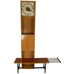 George Nelson Grandfather Clock by Herman Miller
