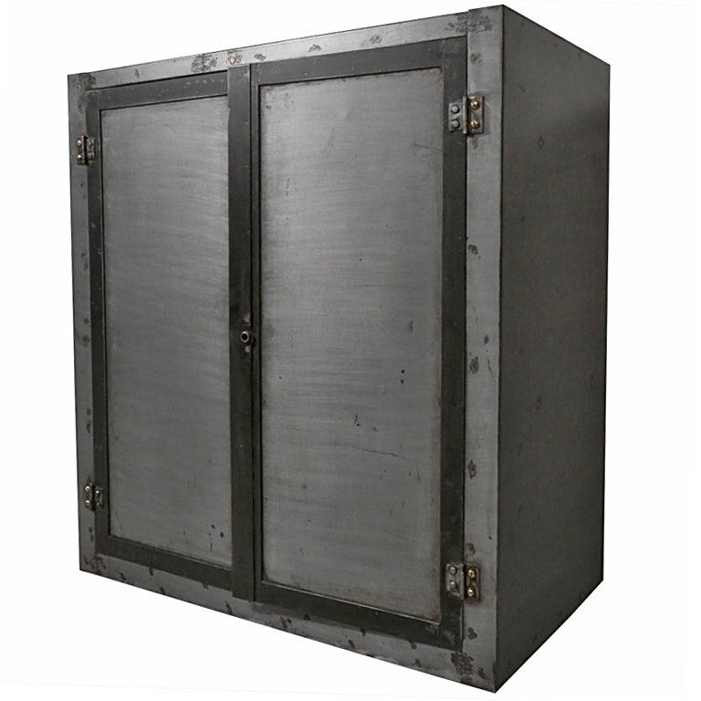 Industrial Two Door Cabinet