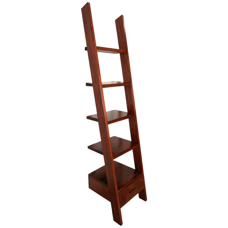 Unusual Ladder Style Bookcase at 1stdibs