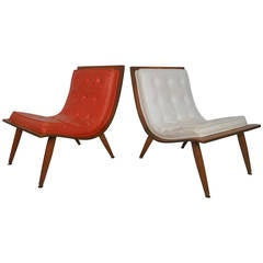 Bentwood Scoop Chair by Carter Brothers