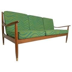 Vintage Three-Seat Sofa J.B. Van Sciver Co.