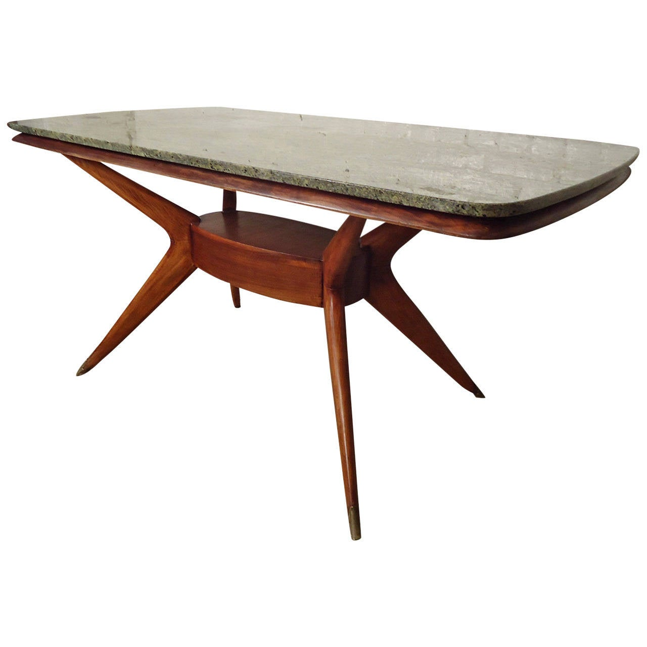 Vintage Dining Table with Gorgeous Marble Top at 1stdibs : 2170232l from www.1stdibs.com size 1280 x 1280 jpeg 69kB