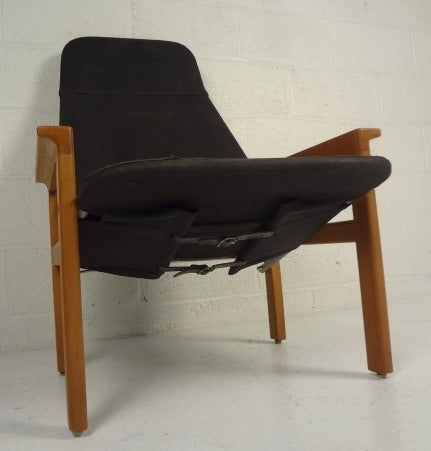 Mid-Century Modern Scandinavian Modern Armchair by Botema For Sale