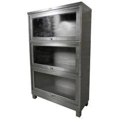Restored Barrister Metal Bookcase