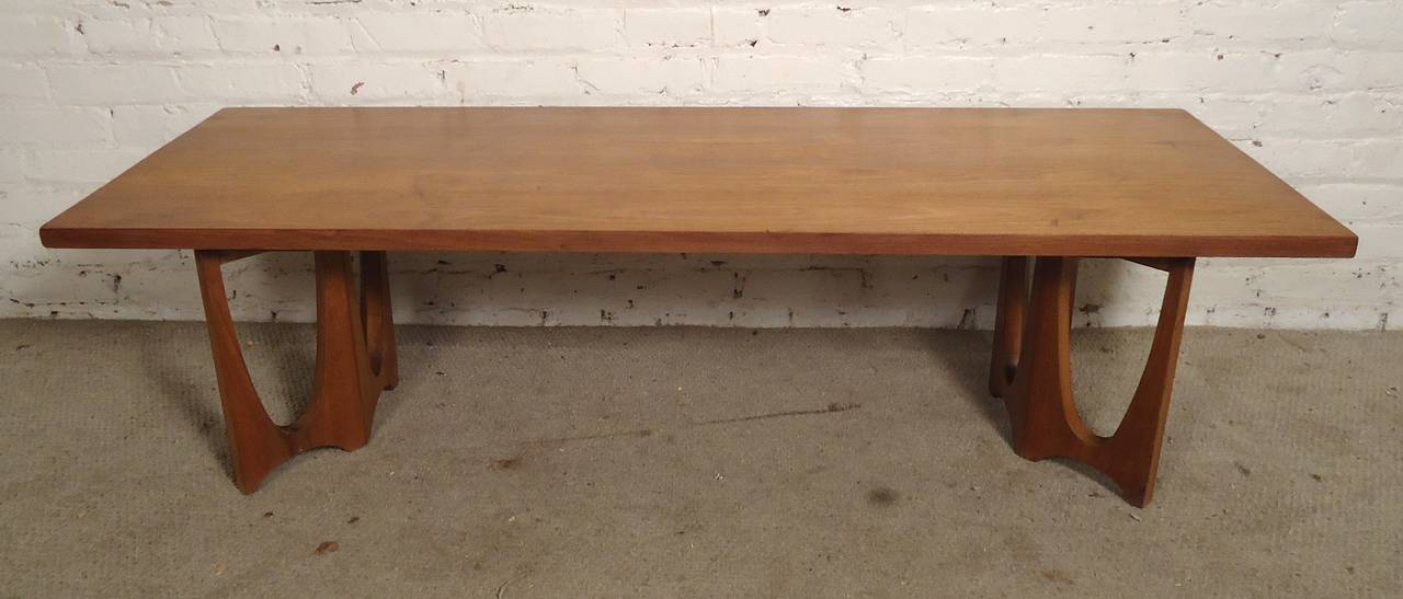 Brasilia By Broyhill Mid Century Coffee Table For Sale At