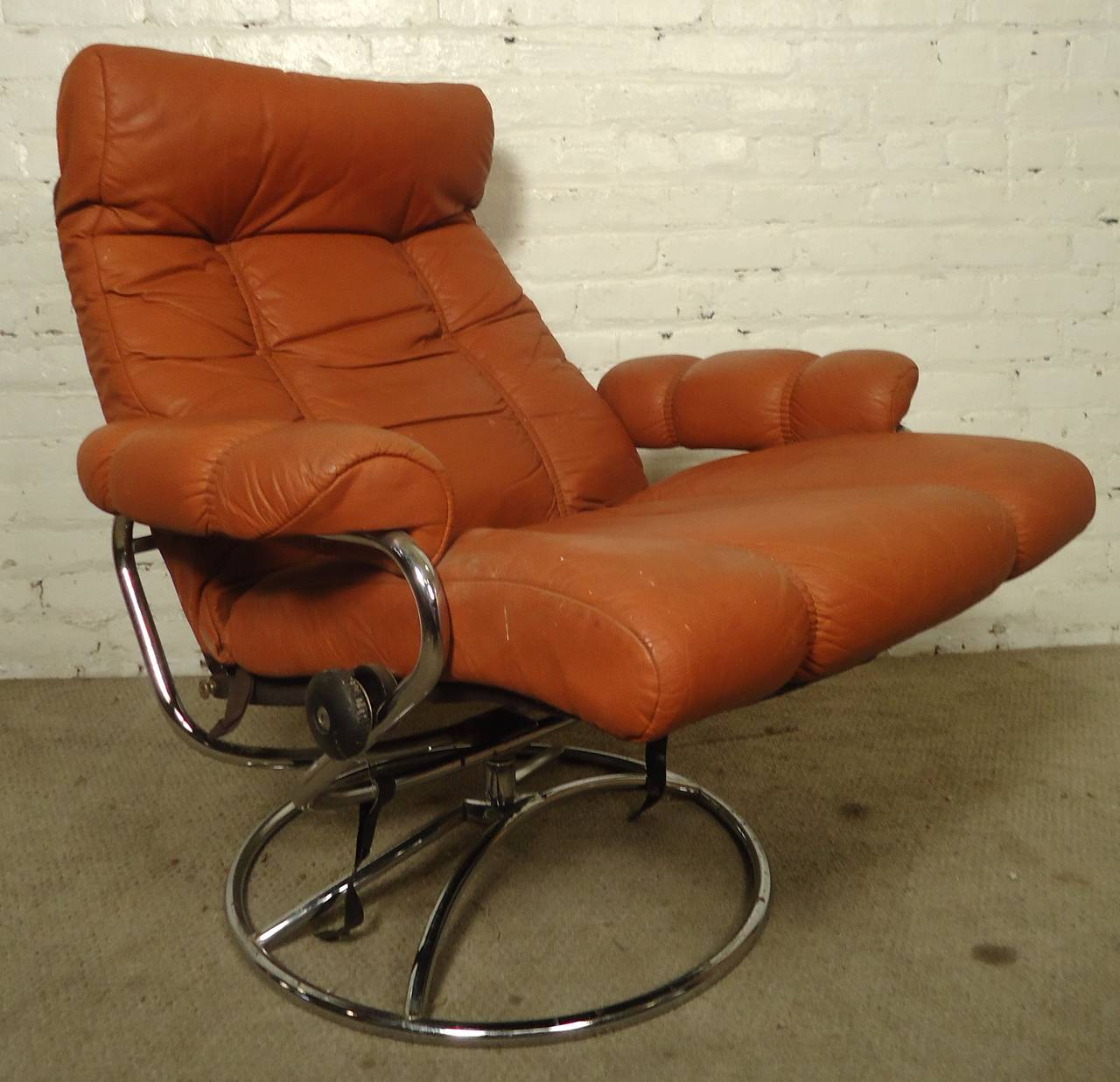 Mid-Century Reclining Chair and Ottoman by Ekornes Stressless 3 & Mid-Century Reclining Chair and Ottoman by Ekornes Stressless For ... islam-shia.org