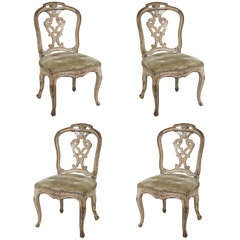 Set of Four Louis XIV Chairs