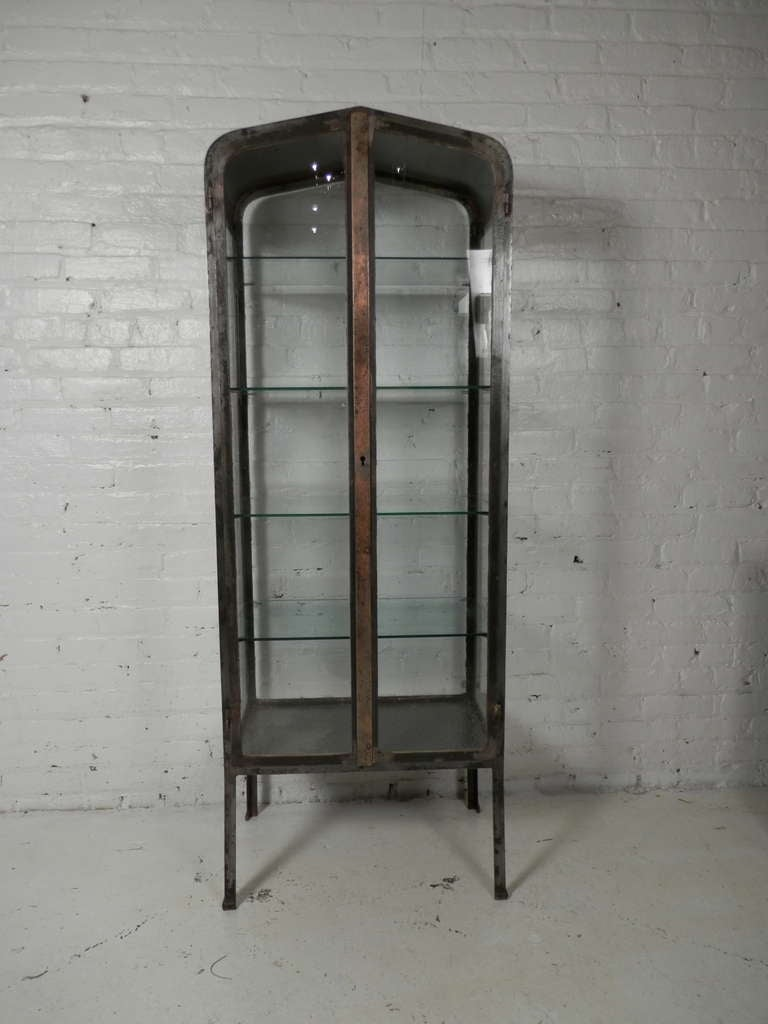 Vintage Apothecary Metal Cabinet At 1stdibs