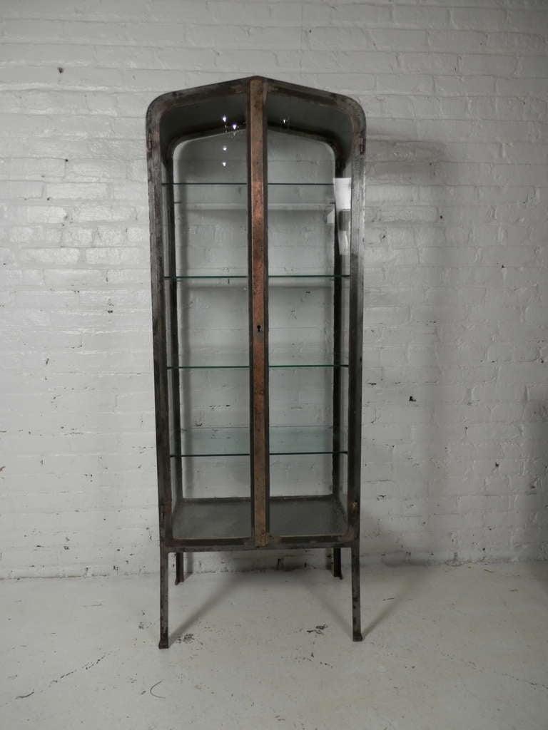 Antique Metal Dental Cabinet Vintage Apothecary Metal Cabinet At 1stdibs