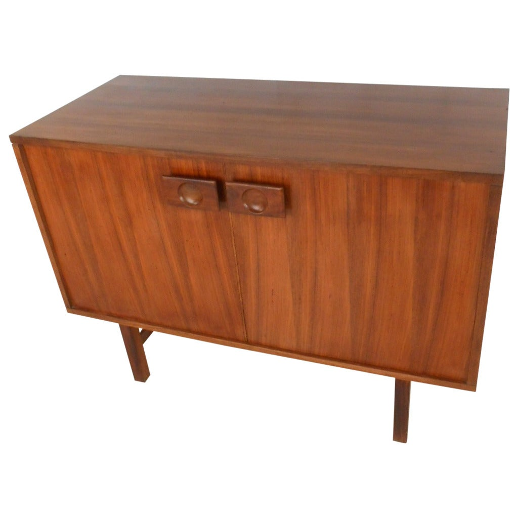 Unique Mid Century Rosewood Storage Cabinet At 1stdibs