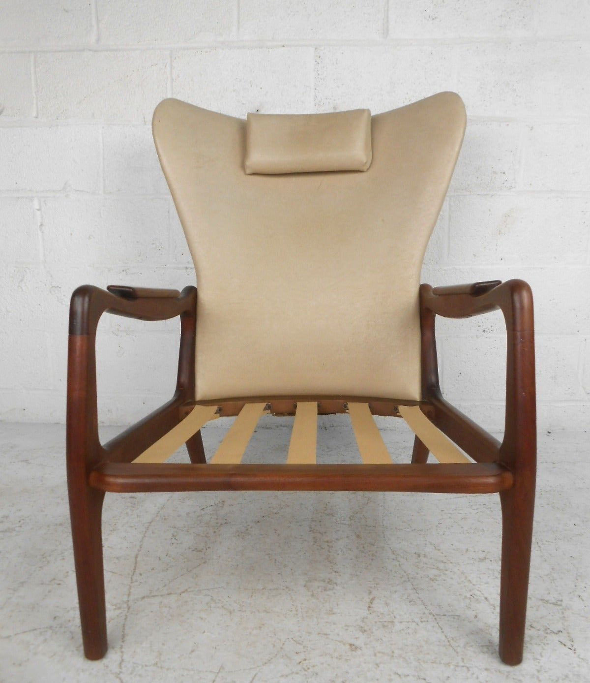 Mid century modern adrian pearsall wingback armchair for for Mid century modern armchairs