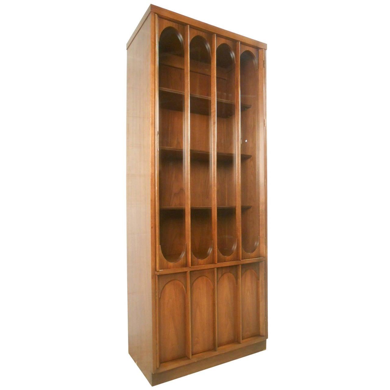 Mid-Century Modern Broyhill Brasilia Curio Display Cabinet For ...