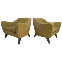 Scandinavian Modern Lounge Chairs