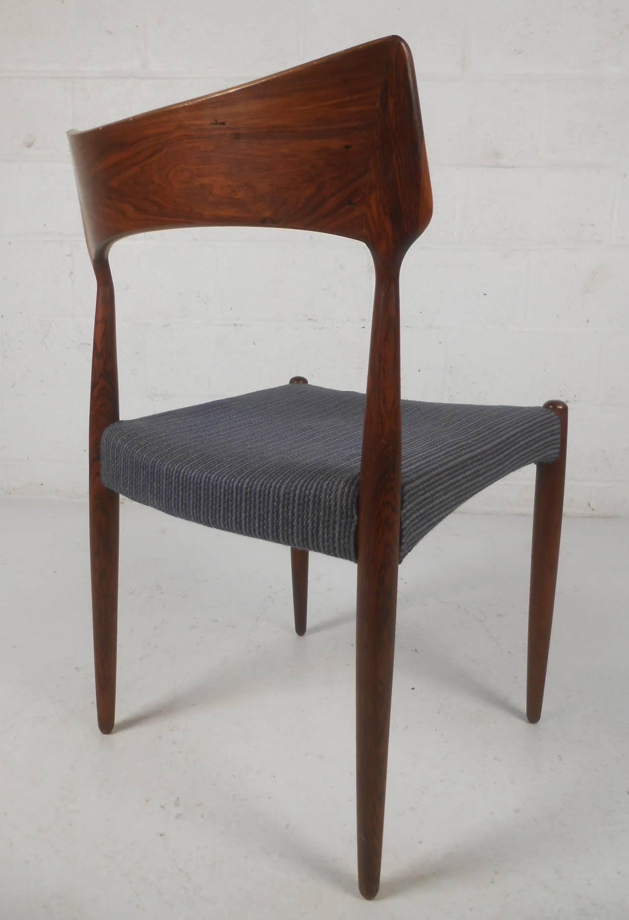 Danish Rosewood Dining Chairs At 1stdibs