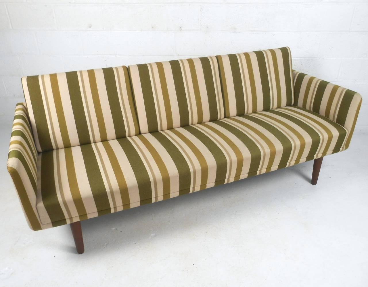 Mid-Century Modern Large Danish Modern Sofa after Børge Mogensen For Sale
