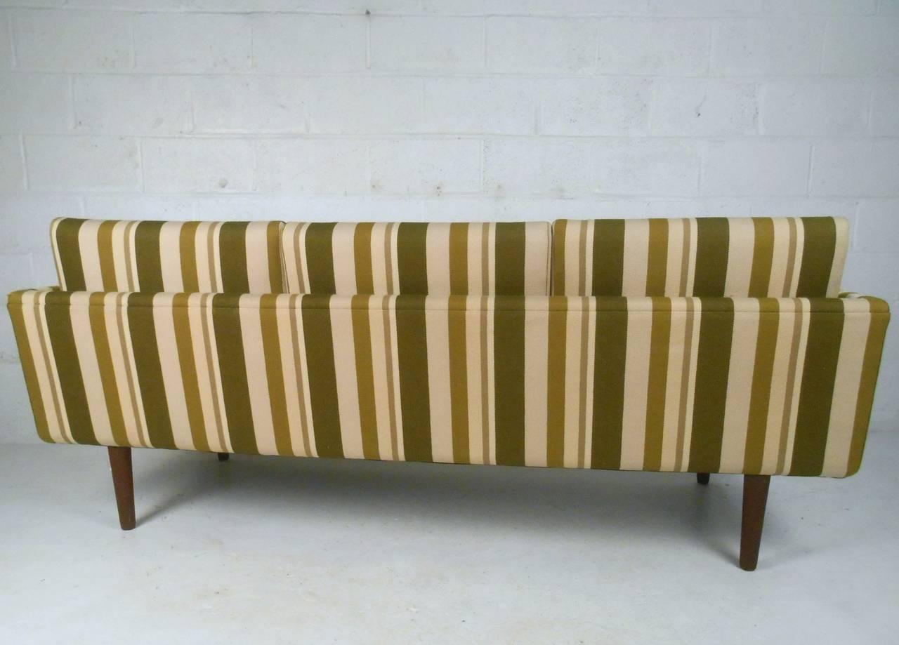 Mid-20th Century Large Danish Modern Sofa after Børge Mogensen For Sale