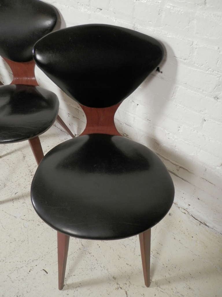 norman cherner vintage chairs for plycraft 3