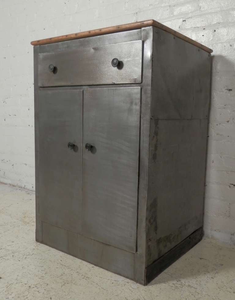 industrial metal cabinet industrial metal utility cabinet for at 1stdibs 17835