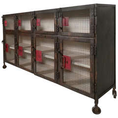 """Heavy Industrial """"Coupe"""" Style Cabinet"""