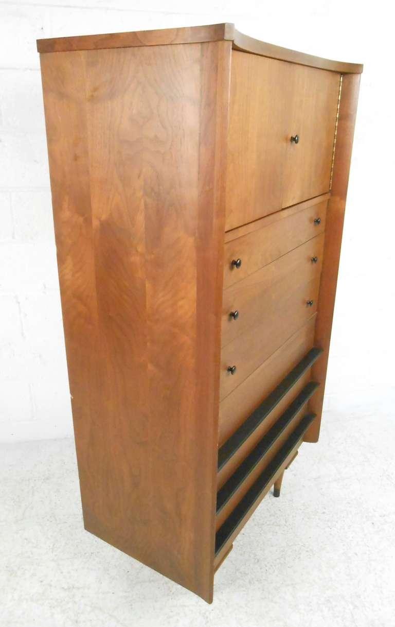 Vintage mid century modern american of martinsville for Vintage american martinsville bedroom furniture