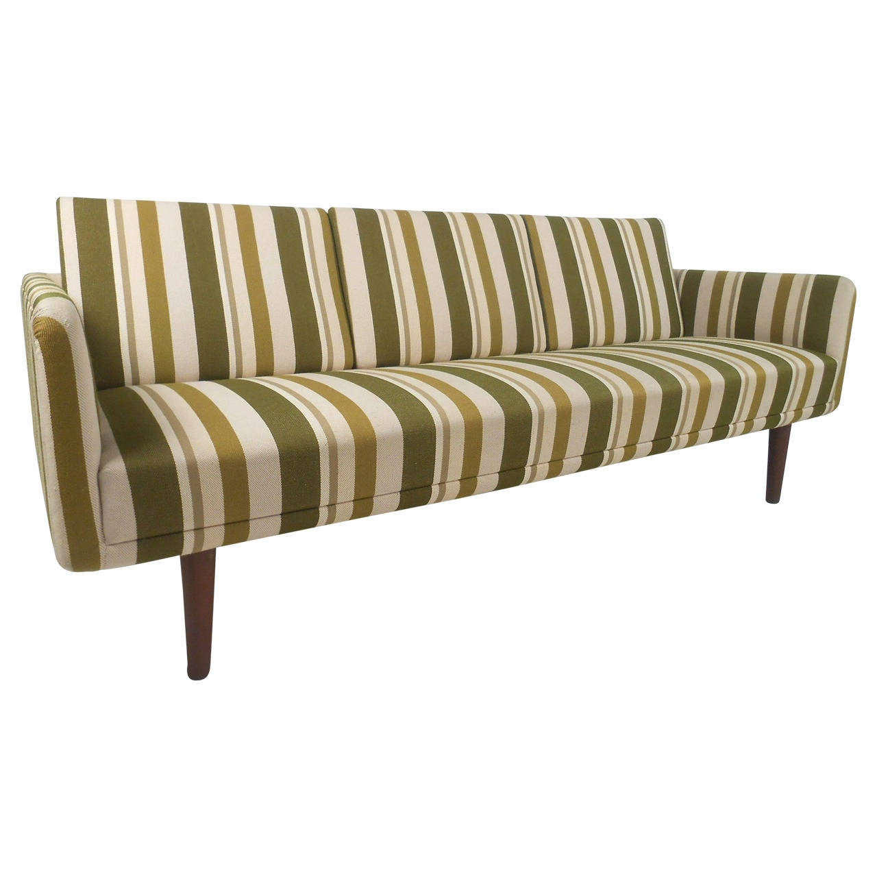Large Danish Modern Sofa After Børge Mogensen For