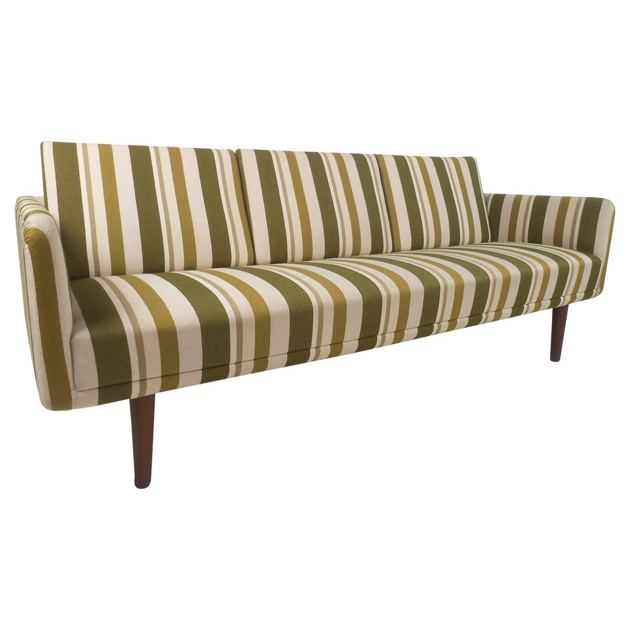 Large Danish Modern Sofa after Børge Mogensen