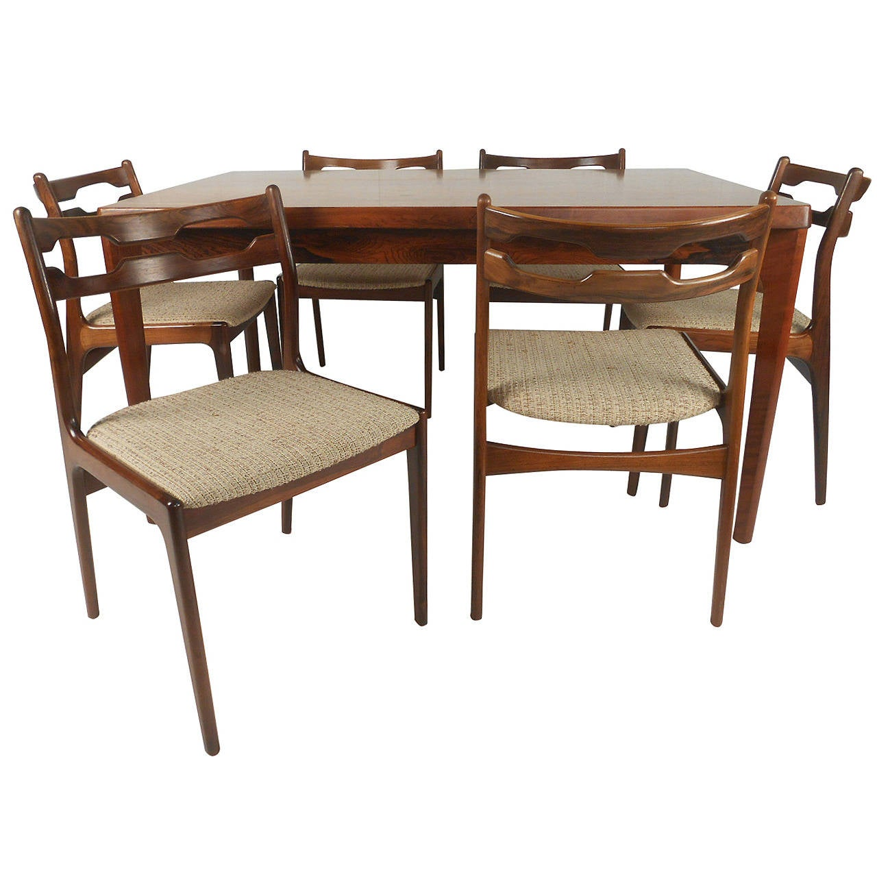 Johannes Andersen Dining Table and Chairs