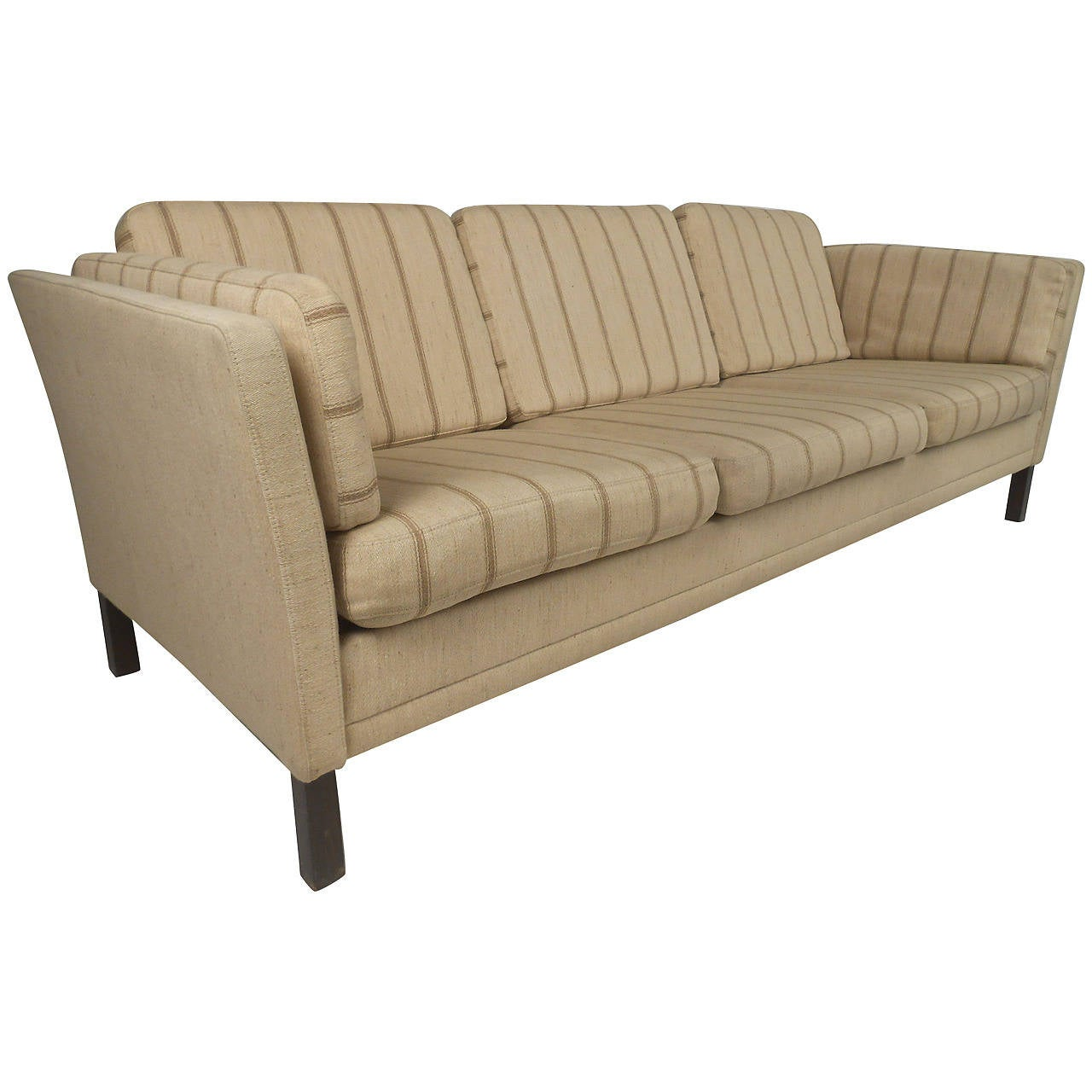 Stunning Danish Modern Three-Seat Sofa