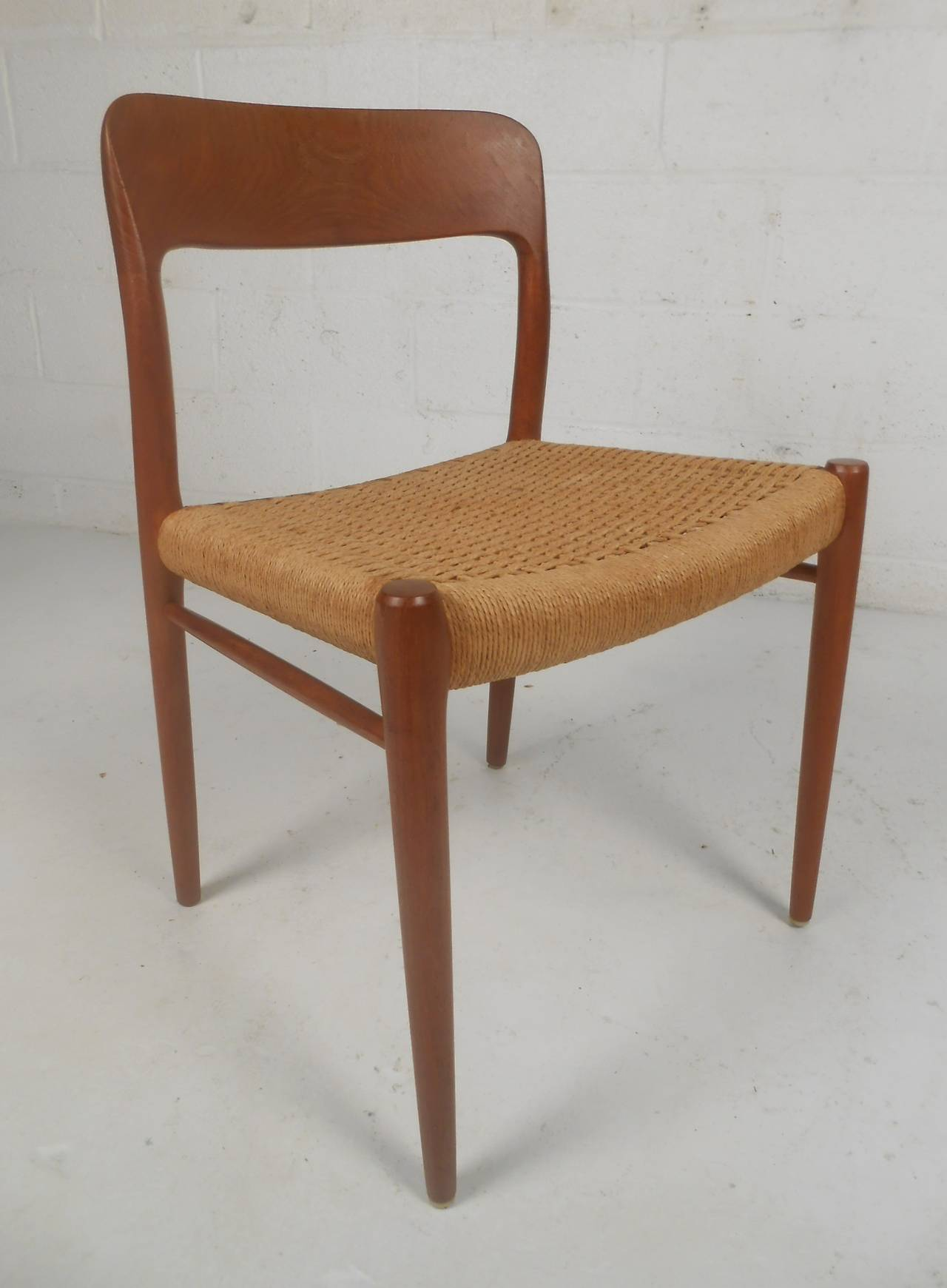 N o moller danish dining chairs for sale at stdibs