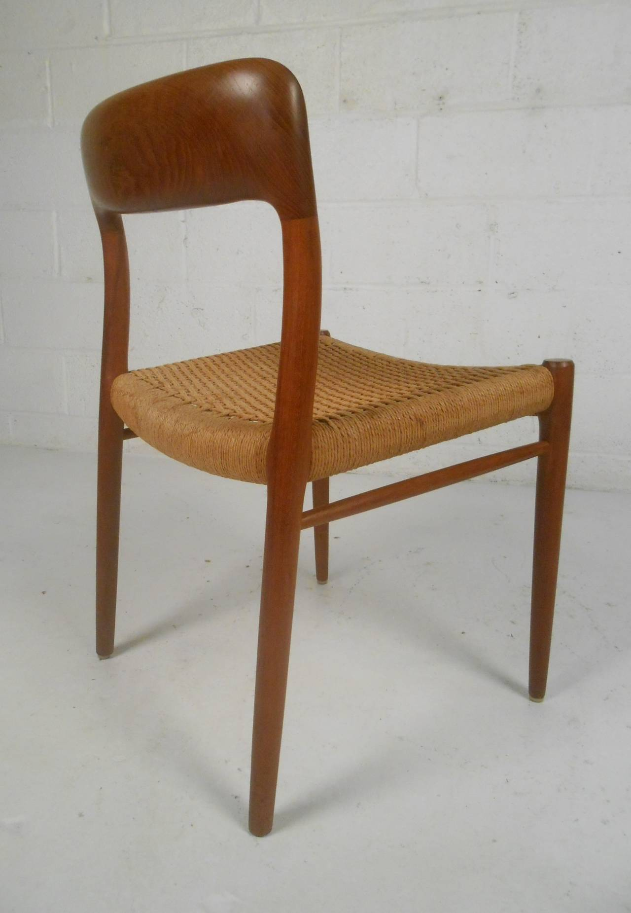 N O Moller Danish Dining Chairs For Sale At 1stdibs