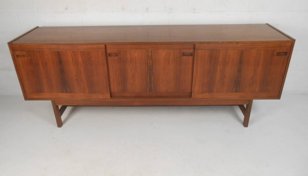Danish Credenza For Sale : Mid century modern danish credenza for sale at 1stdibs