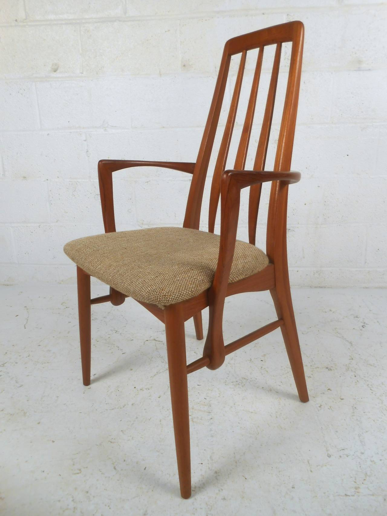 Sculpted rosewood danish dining chairs red modern furniture - Mid Century Modern Danish Teak Quot Eva Quot Dining Chairs For
