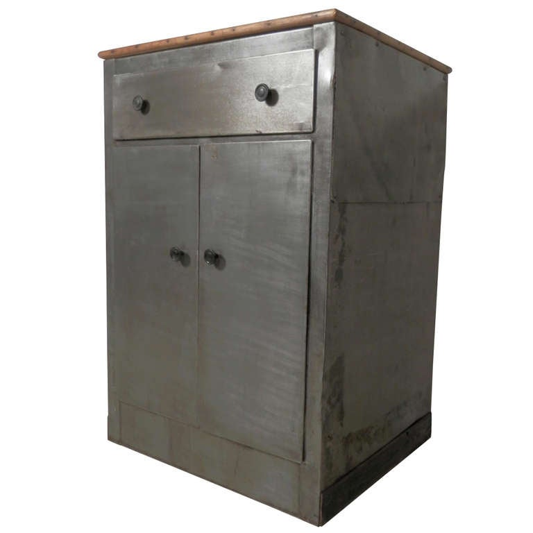 Industrial Metal Utility Cabinet For Sale