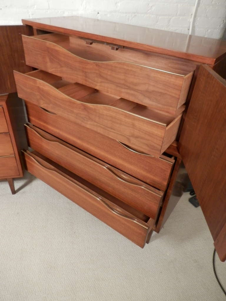 of martinsville mid century modern bedroom set for sale at 1stdibs
