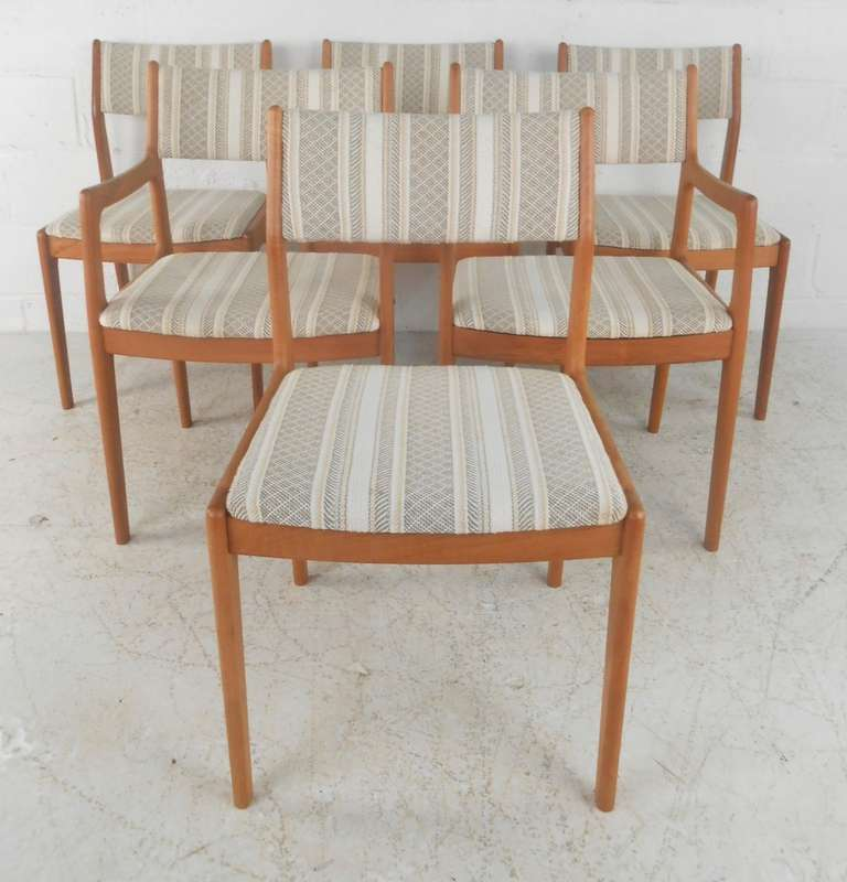 set of six danish modern dining chairs for sale at 1stdibs