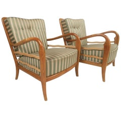 Vintage Italian Design Lounge Chairs
