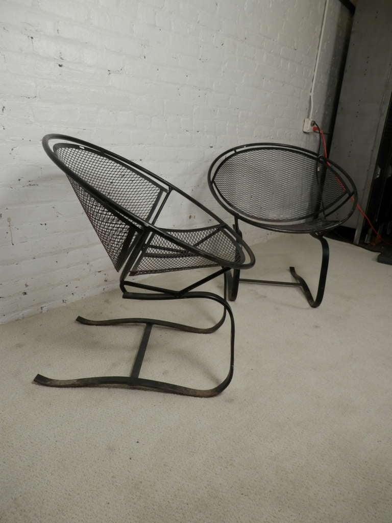 Salterini Patio Furniture Parts: Maurizio Tempestini Salterini Clamshell Patio Chairs At