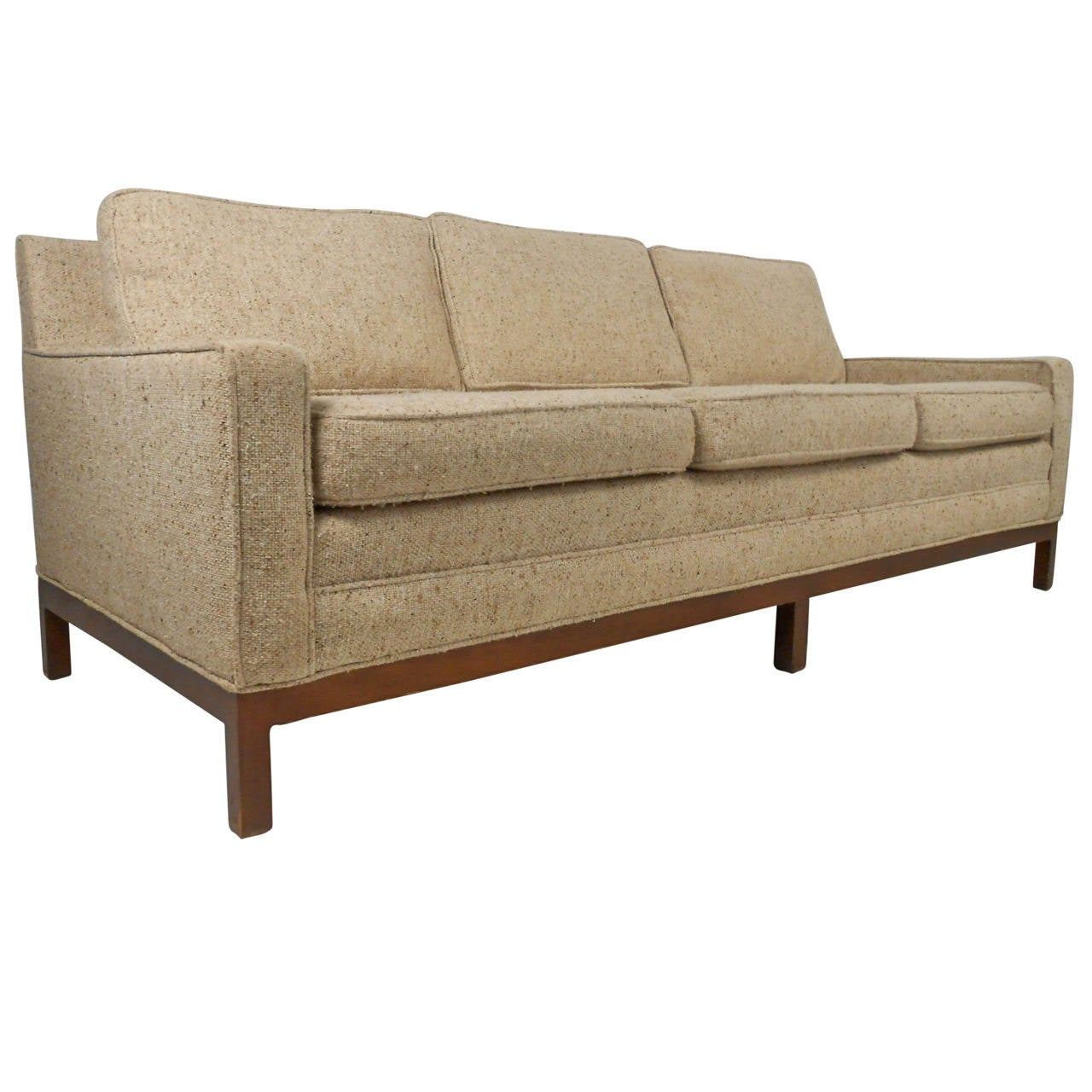 Stylish vintage modern sofa after florence knoll for sale for Modern loveseat