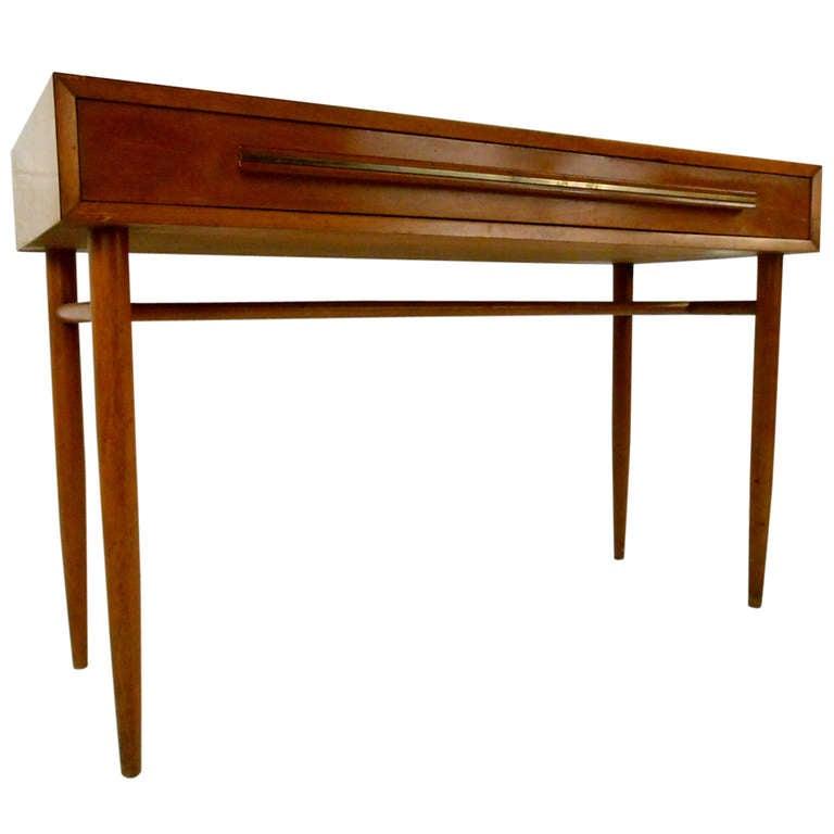 Mid Century Widdicomb Style Writing Desk At 1stdibs