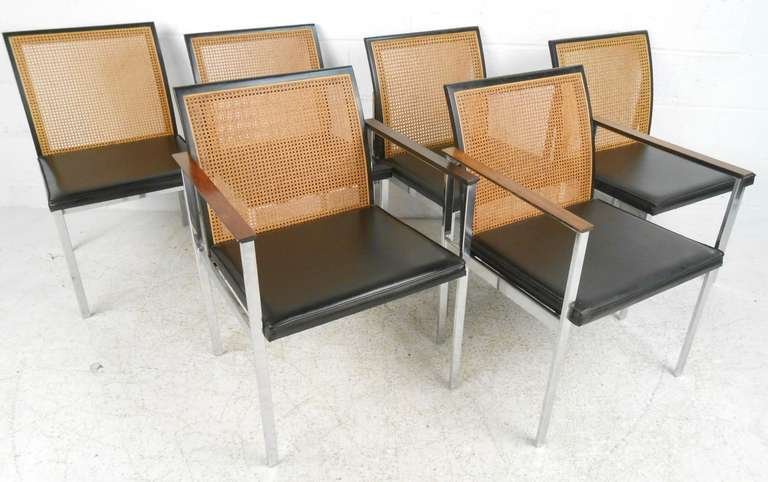 Lane Mid Century Modern Dining Chairs 3