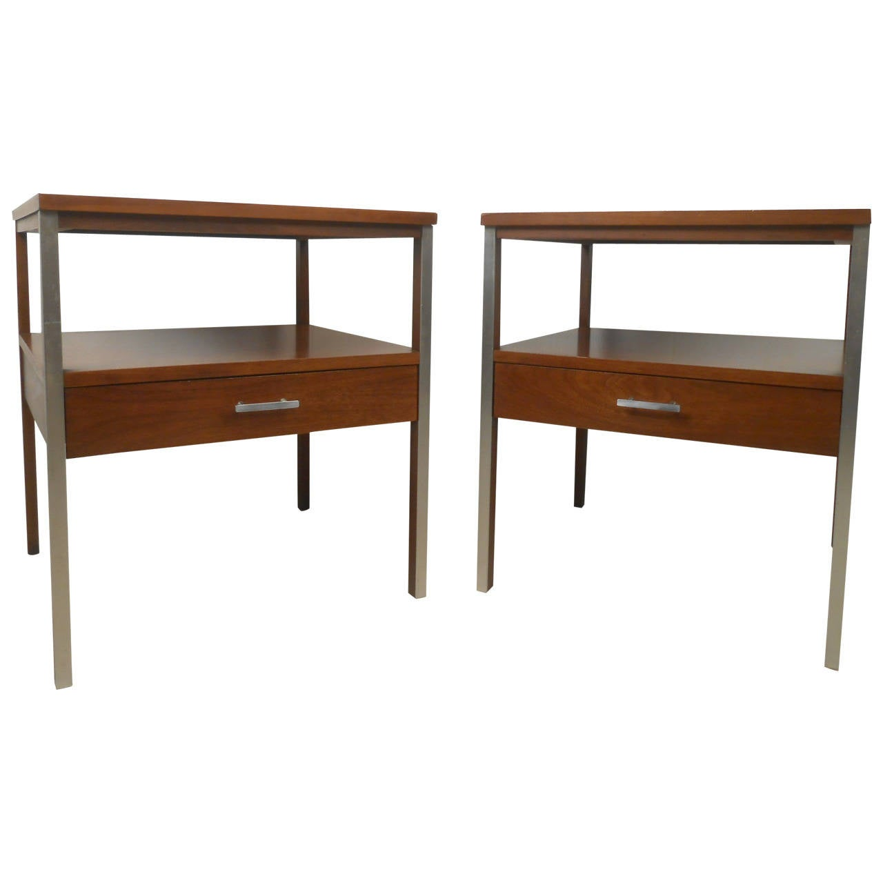 Modern Night Stands Nightstand Bedroom Bedside Table Storage Furniture Night Stand Nightstands