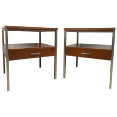 Paul McCobb Mid-Century Modern Nightstands