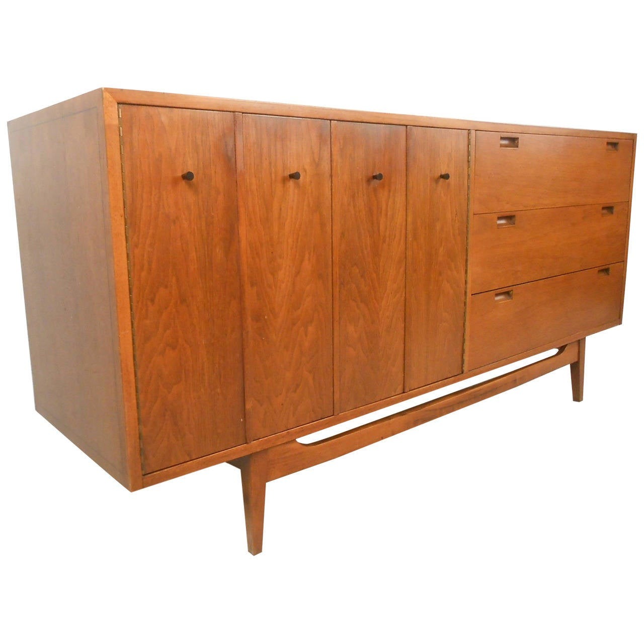 American of Martinsville Mid-Century Modern Six-Drawer Dresser