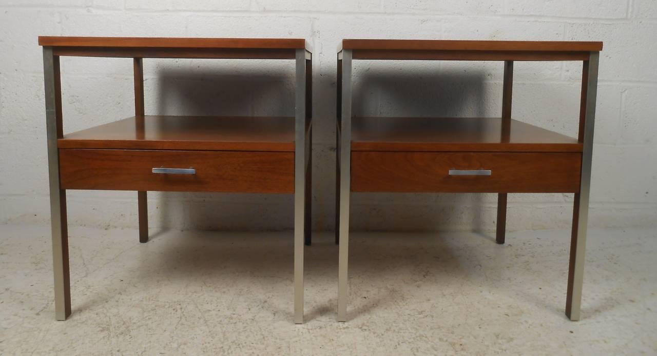 saws on skates mid century modern nightstand iso
