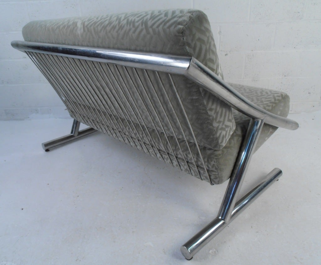 Unique love seat constructed from 2