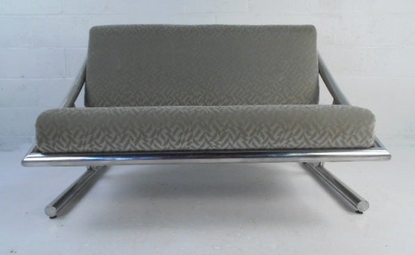 American Vintage Modern Sofa or Loveseat For Sale