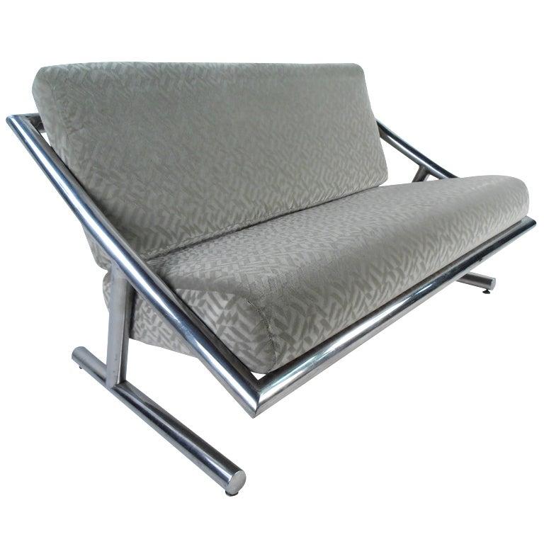 Vintage Modern Sofa or Loveseat For Sale