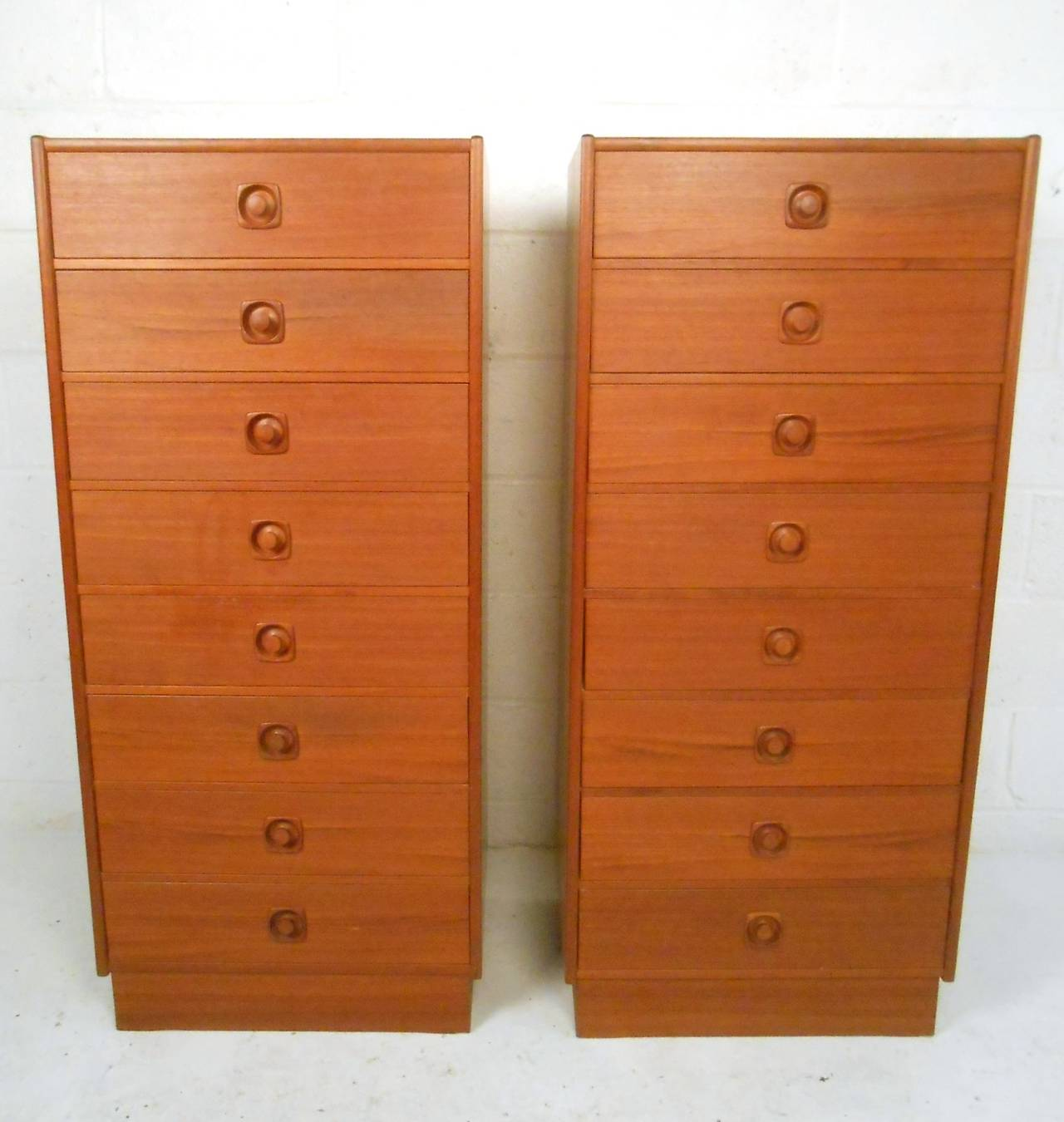 midcentury modern teak lingerie chest for sale at stdibs - midcentury modern teak lingerie chest
