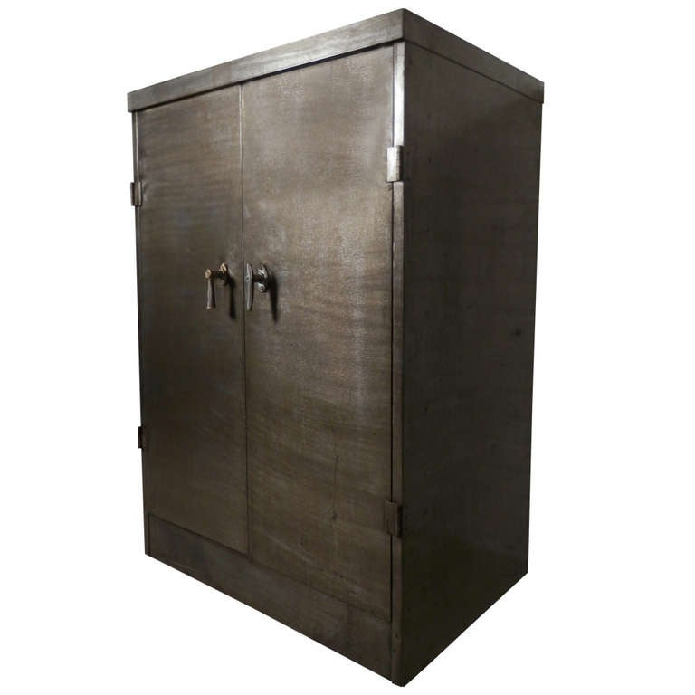 Heavy Duty Industrial Metal Cabinet For Sale At 1stdibs