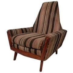Adrian Pearsall Style Midcentury Armchair